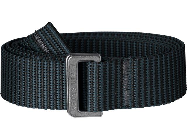 Fjällräven Striped Cintura con fibbia, black-dusk